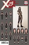 X-23 Vol 3 #1 Cover D Incentive Mike Choi Design Variant Cover