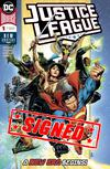 Justice League Vol 4 #1 Cover N Regular Jim Cheung Cover Signed by Scott Snyder