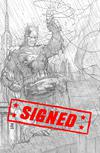Justice League Vol 4 #1 Cover R Incentive Jim Lee Pencils Only Virgin Cover Signed By Scott Snyder