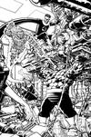 Fantastic Four Vol 6 #1 Cover Z Incentive George Perez Remastered Sketch Variant Cover