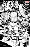 "Captain America Vol 9 #2 Cover E Incentive Jack Kirby Remastered Sketch Variant Cover  <font color=""#FF0000"" style=""font-weight:BOLD"">(CLEARANCE)</FONT>"