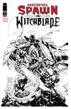 Medieval Spawn Witchblade Vol 2 #2 Cover C Variant Greg Capullo Black & White Cover