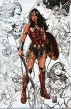 Justice League Vol 4 #1 Cover M Comic Sketch Art Exclusive Mark Brooks Red Armor Concept Sketches Variant Cover