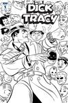 Dick Tracy Dead Or Alive #1 Cover C Incentive Michael Allred Coloring Book Variant Cover