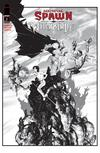 Medieval Spawn Witchblade Vol 2 #3 Cover B Variant Brian Haberlin Black & White Cover
