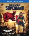 Death Of Superman With Figure Blu-ray DVD