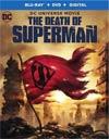 Death Of Superman Blu-ray Combo DVD