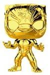 POP Marvel Marvel Studios 10 Black Panther Chrome Vinyl Bobble Head