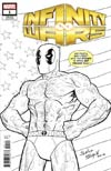 Infinity Wars #1 Cover K Incentive Salvador Espin Party Sketch Variant Cover