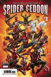 Spider-Geddon #1 Cover A Regular Jorge Molina Cover