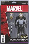 What If Thor #1 Cover B Variant John Tyler Christopher Action Figure Cover