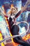 Spider-Gwen Ghost Spider #1 Cover C Variant Stanley Artgerm Lau Cover (Spider-Geddon Tie-In)(Limit 1 Per Customer)