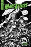 Mars Attacks Vol 4 #1 Cover G Incentive Tom Mandrake Black & White Cover