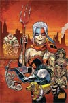 Old Lady Harley #1 Cover D DF Signed By Frank Tieri
