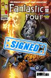 Fantastic Four Vol 6 #1  Midtown Exclusive Mark Bagley Variant Cover Signed By Mark Bagley