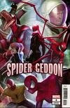 Spider-Geddon #4 Cover B Variant In-Hyuk Lee Connecting Cover (4 Of 5)