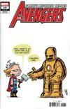 Avengers Vol 7 #10 Cover D Variant Skottie Young Baby Cover (#700)
