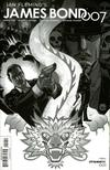 James Bond 007 #1 Cover E Incentive Dave Johnson Black & White Cover