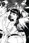 Bettie Page Vol 2 #1 Cover J Incentive Julius Ohta Black & White Cover