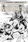 Battlestar Galactica Classic #1 Cover G Incentive Sean Chen Black & White Cover