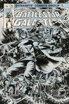 Battlestar Galactica Classic #1 Cover H Incentive Kelley Jones Black & White Cover