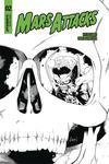 Mars Attacks Vol 4 #2 Cover G Incentive Ruairi Coleman Black & White Cover