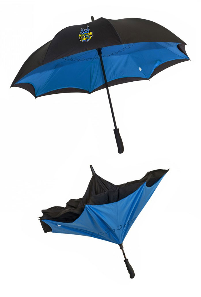 Midtown Comics Logo 48-inch Inverted Umbrella