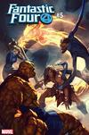 Fantastic Four Vol 6 #5 Cover C Variant Gerald Parel Conan vs Marvel Heroes Cover
