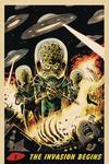 Mars Attacks Vol 4 #3 Cover F Incentive Francesco Francavilla Virgin Cover