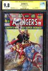Avengers Vol 7 #1  Midtown Exclusive Clayton Crain Variant Cover Signed By Clayton Crain CGC 9.8