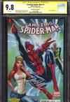 Amazing Spider-Man Vol 3 #1  Midtown Exclusive J Scott Campbell Connecting Color Variant Cover Signed By J Scott Campbell CGC 9.8 (2 of 3)