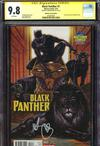 Black Panther Vol 6 #1  Midtown Exclusive Mark Brooks Variant Cover Signed By Mark Brooks CGC 9.8