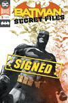 Batman Secret Files Vol 2 #1 Cover B Enhanced Foil Cover Signed By Brad Walker