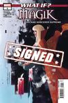 What If Magik #1 Cover C Regular Jeff Dekal Cover Signed By Leah Williams