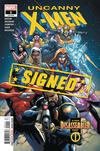 Uncanny X-Men Vol 5 #1 Cover W Regular Leinil Francis Yu Cover Signed By Kelly Thompson