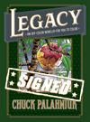 Legacy An Off-Color Novella For You To Color HC With Signed Bookplate By Chuck Palahniuk