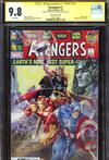 Avengers Vol 7 #1  Midtown Exclusive Clayton Crain Variant Cover Signed And Thor Sketch By Clayton Crain CGC 9.8