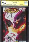 Amazing Spider-Man Vol 4 #800  Midtown Exclusive Francesco Mattina & Will Sliney Connecting Variant Cover Signed By Dan Slott CGC 9.6