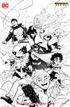 Young Justice Vol 3 #1 Cover B Variant Patrick Gleason Sketch Cover