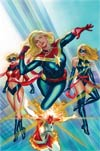 Captain Marvel Vol 9 #1 By Alex Ross Poster