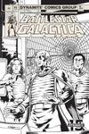 Battlestar Galactica Classic #3 Cover D Incentive Daniel HDR Black & White Cover