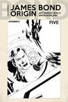 James Bond Origin #5 Cover F Incentive John Cassaday Black & White Cover