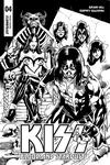 KISS Blood And Stardust #4 Cover E Incentive Rodney Buchemi Black & White Cover