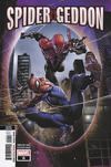Spider-Geddon #0 Cover F 2nd Ptg Variant Clayton Crain Cover