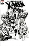 Uncanny X-Men Vol 5 #1 Cover P Incentive Dave Cockrum Hidden Gem Wraparound Sketch Cover