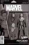 Uncanny X-Men Vol 5 #1 Cover S Incentive John Tyler Christopher Action Figure Party Sketch Cover