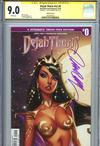 Dejah Thoris Vol 2 #0 Cover E Incentive J Scott Campbell Sneak Peek Variant Cover Signed By J Scott