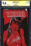 Vampirella Vol 7 #0 Cover E Incentive J Scott Campbell Sneak Peek Variant Cover Signed By J Scott Ca