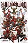 Spider-Geddon #1 Cover N 2nd Ptg Variant Jorge Molina Cover