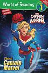 World Of Reading This Is Captain Marvel SC
